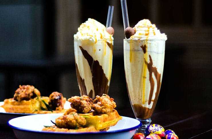 Crème Egg Milkshakes At Orleans