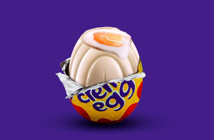 cadbury white chocolate creme egg