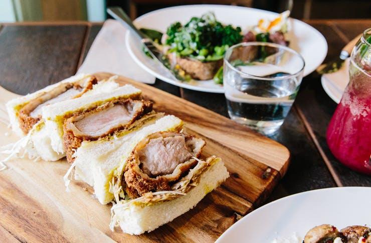 best cafe oratnek katsu sandwiches in sydney