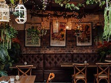 Dig Into A Banquet Of Tapas In A Secret Courtyard At This Suburban Cocktail Bar
