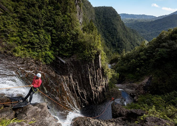 Grab Your Carabiners, Here's Where To Find New Zealand's Best Canyoning Spots