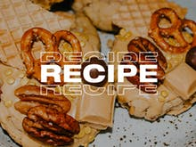 Fire Up The Oven And Make These Epic Caramilk, Pretzel, And Pecan Biscuits