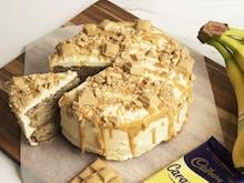 Move Over Banana Bread, Caramilk Banana Cake Exists And Here's How To Make It