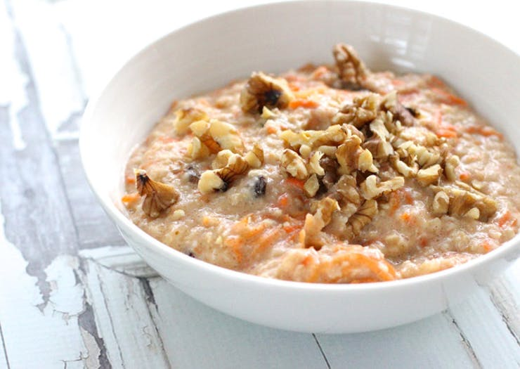 Carrot Cake Muesli recipe, healthy recipe, breakfast recipe
