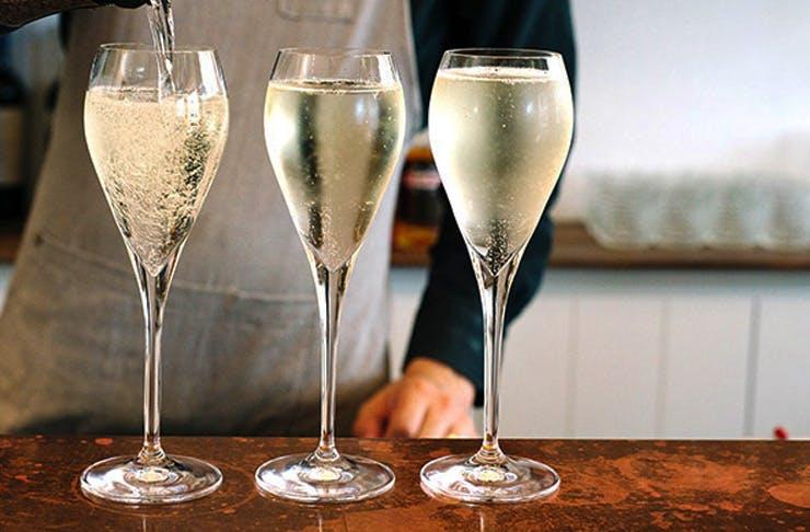 champagne tram sydney