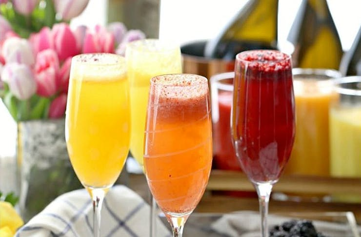 champagne breakfasts melbourne cafes