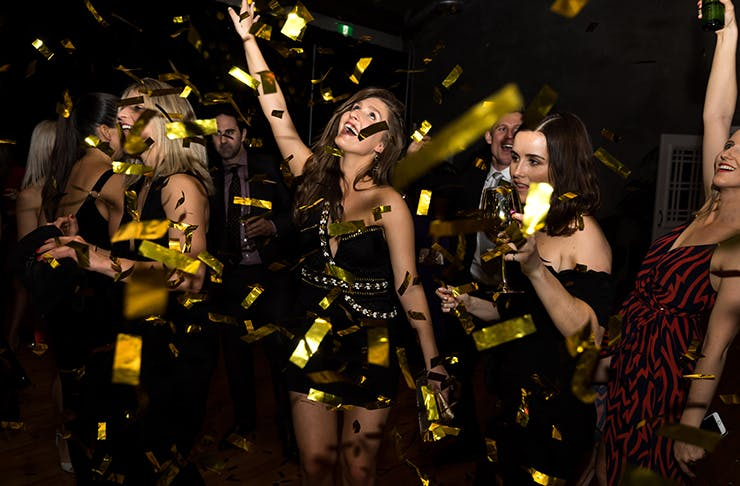 Auckland's Getting A Poppin' Champagne Party Day