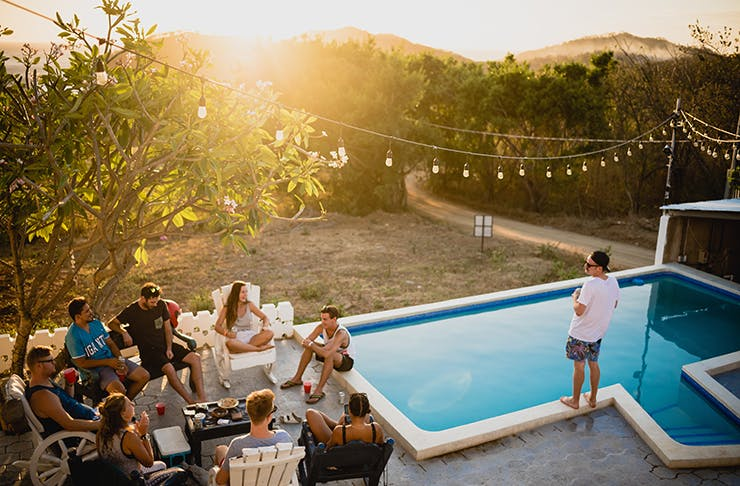 Pool party, Things to do in Christchurch in January