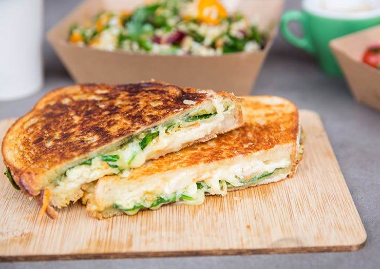 Melbourne's Getting A Cheese Toastie Festival This Weekend