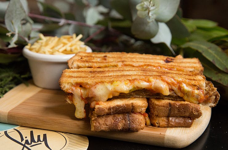 cheeseburger toastie sydney
