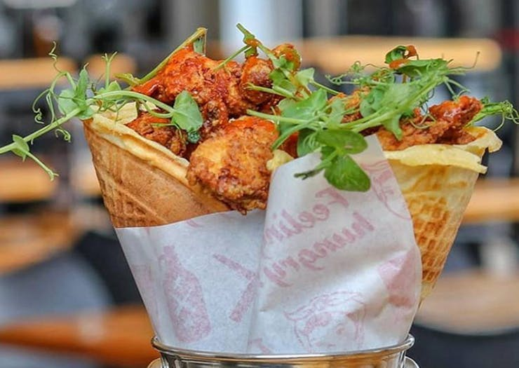 Chicken Waffle Cones Are A Thing And We Know Where To Find Them