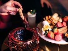 Dip Marshmallows And Churros Into This Decadent Milk Chocolate Fondue Pot At W Brisbane