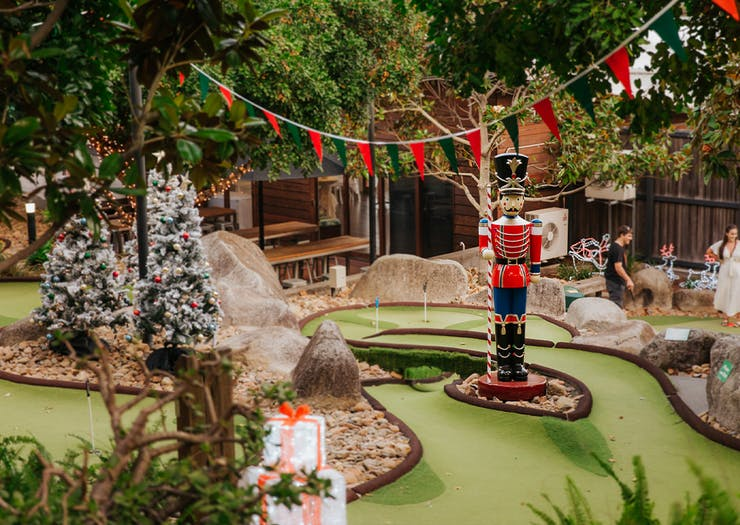 Smash A Jolly Hole In One At Christmas-Themed Mini Golf This Festive Season