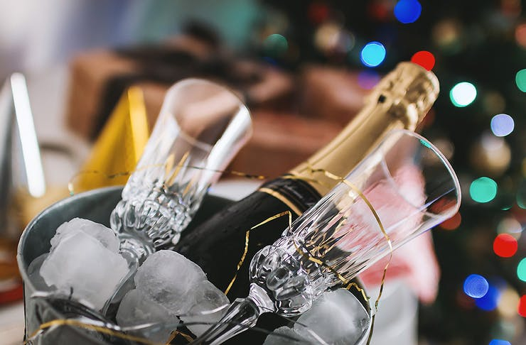 Champagne in a bucket, Places for your Christmas party
