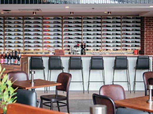 a wine bar