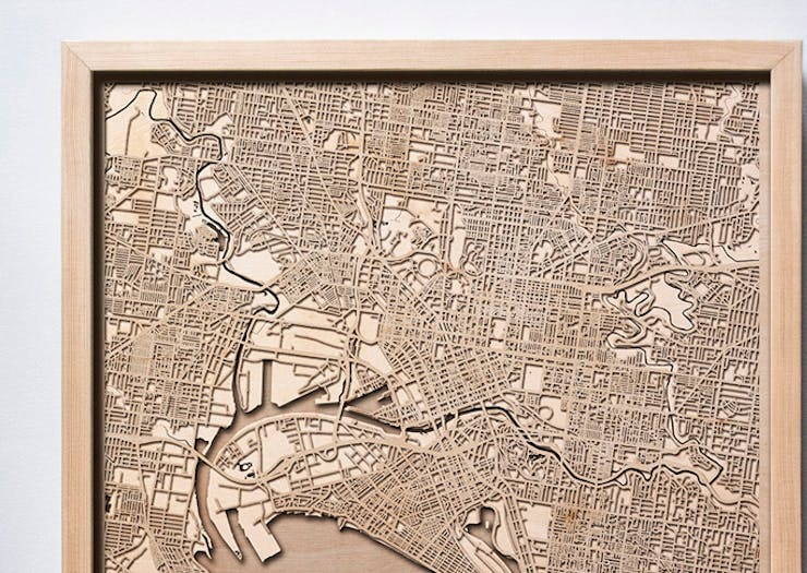 You Need To Get One Of These Wooden Maps In Your House ASAP