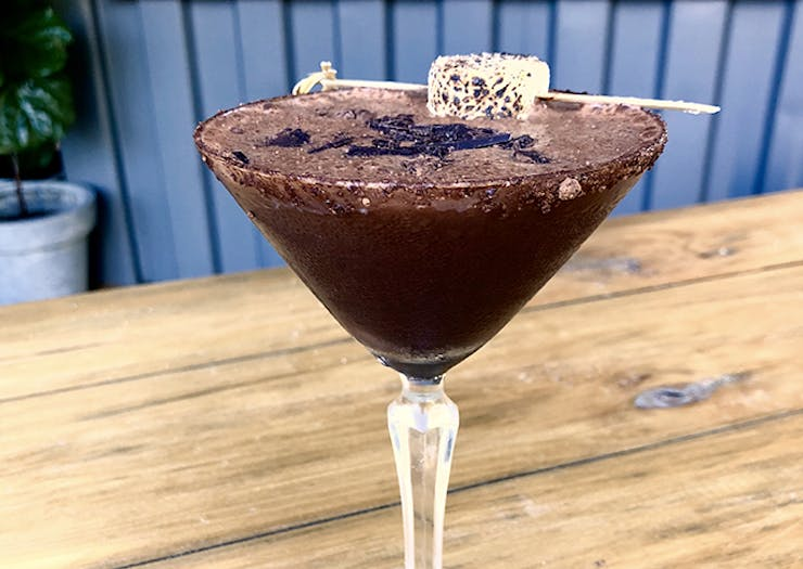 We Know Where You Can Score A Hot Chocolate Milo Martini This Winter