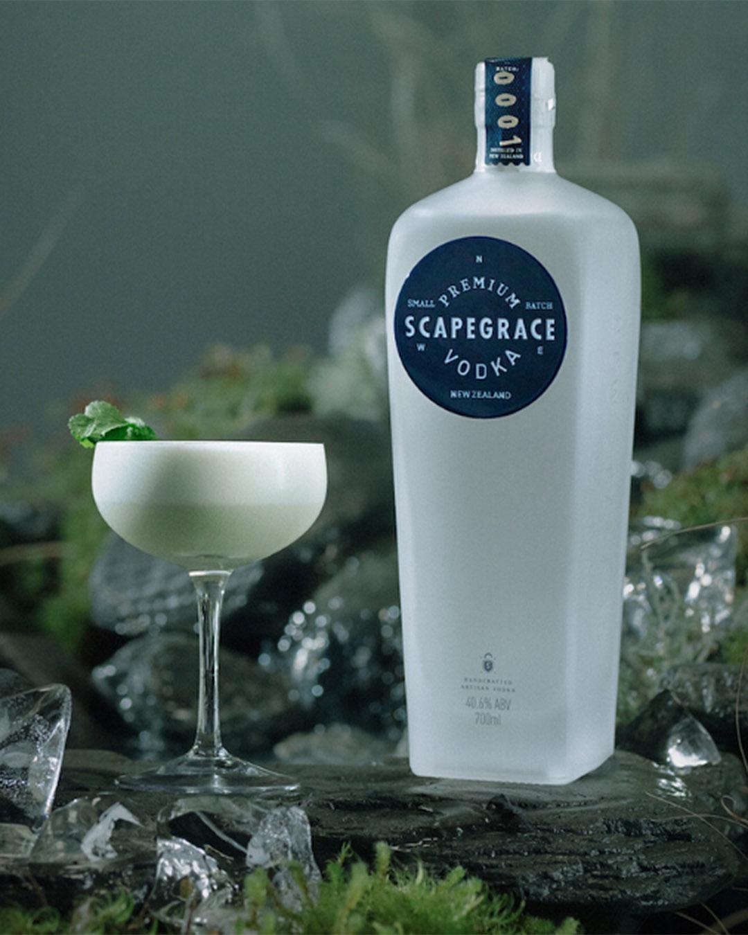 The Copra Coupe by Scapegrace vodka