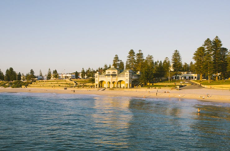 Indiana building at Cottesloe Beach