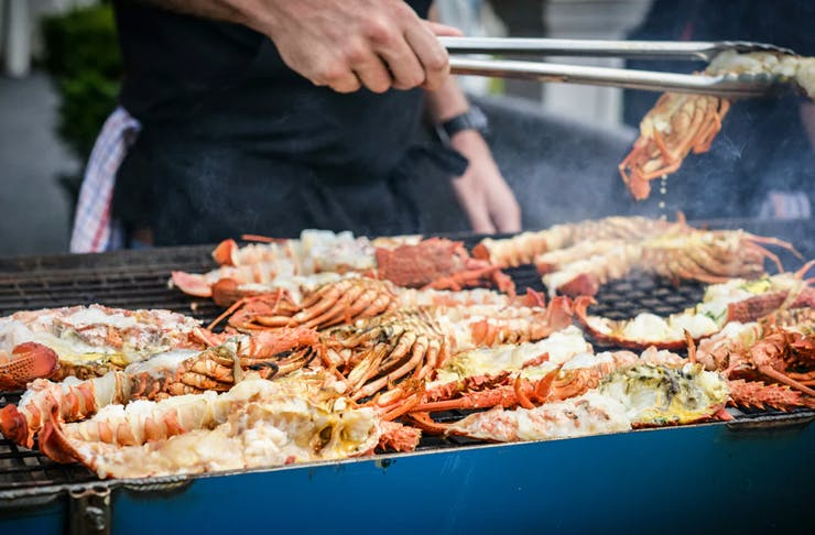 flinders island crayfish food festival