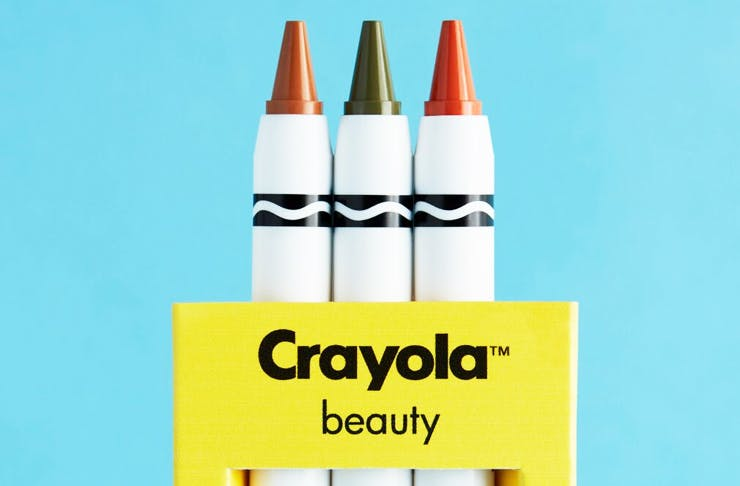 ASOS & Crayola Just Created The Technicolour Makeup Collection Of Your Dreams