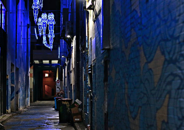 Get Your Eyes Across The $9 Million Dollar Arts Project Set To Light Up Melbourne's Laneways