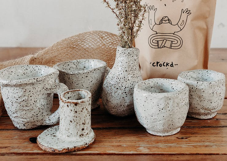Get Your Hands Dirty With This Home-Delivered DIY Pottery Kit