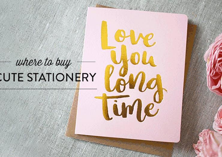 Where to buy cute stationery brisbane the urban list m4hsunfo
