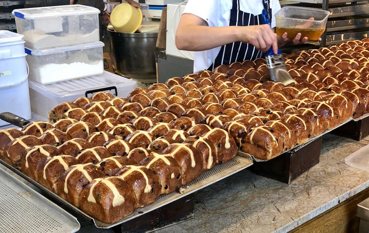 Daily Bread Hot Cross Buns