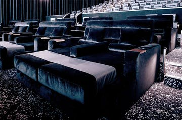 You Can Now Watch A Movie While Reclining In A Double Daybed