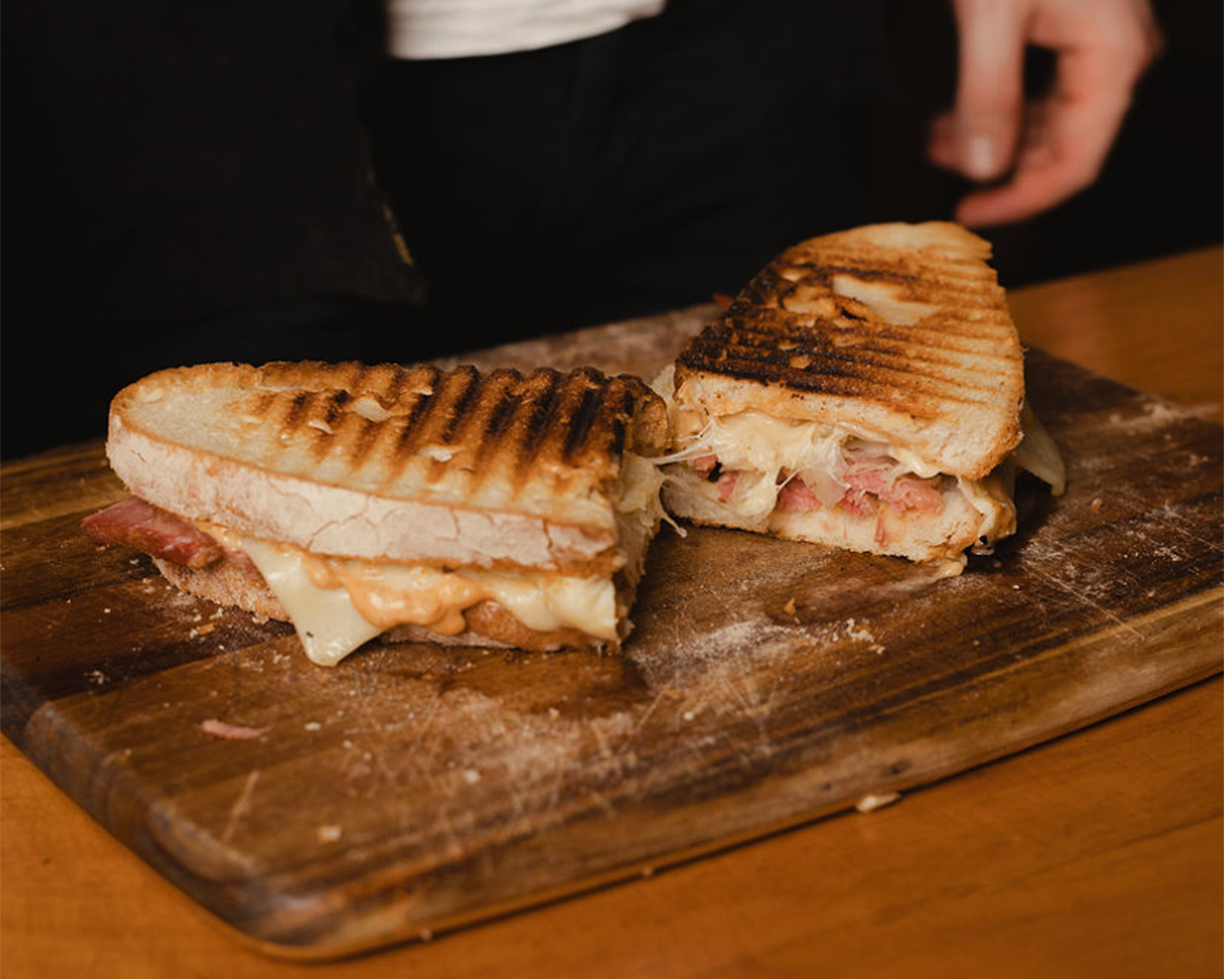 A lovely looking sandwich at Dedwood Deli.