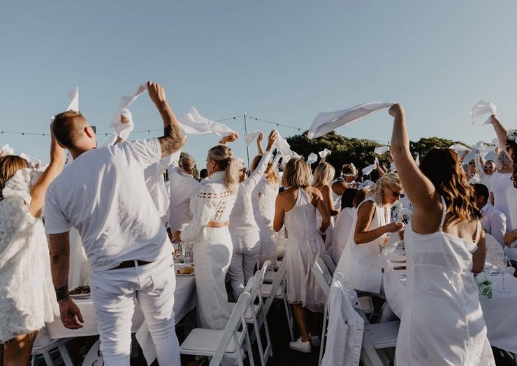 Dry Clean Your Whites, Diner En Blanc Perth Is Back For 2020