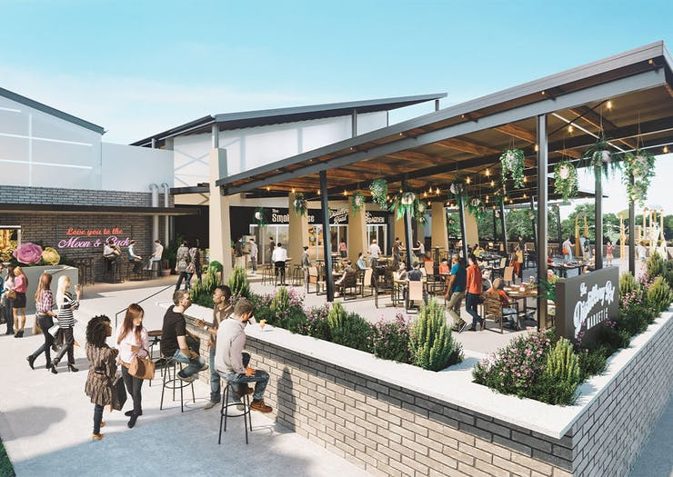 Hold The Phone, Logan Is Getting A Massive New Food Precinct Next Year