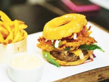 Doughnut Cheeseburgers Have Hit Auckland!