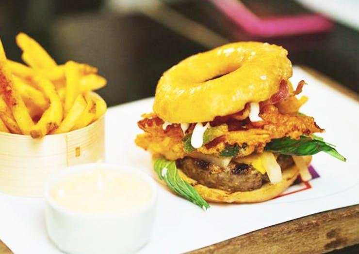 Doughnut Cheeseburgers Have Hit Auckland!