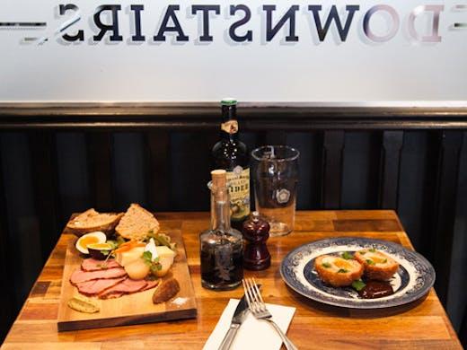 british restaurant in Sydney Downstairs Darlinghurst