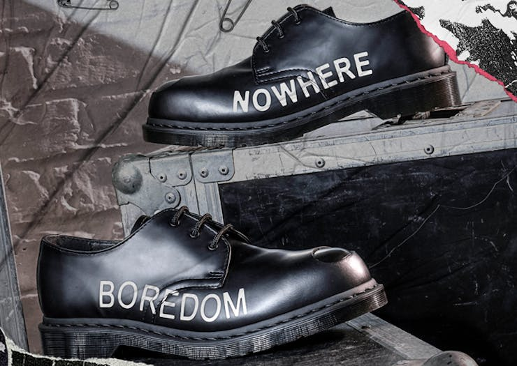 Channel Your Angst With The Dr Martens Sex Pistols Collab