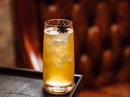a cocktail star anise