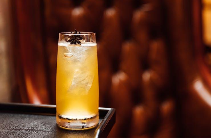 a highball cocktail