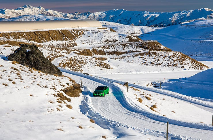 Drift Into Winter With The Ultimate Alpine Driving Challenge