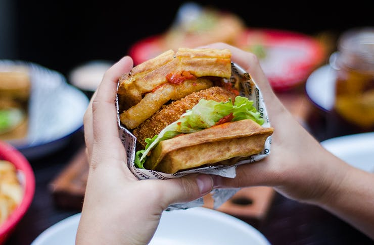 Drop Everything | Waffle Burgers Are Taking Over Auckland