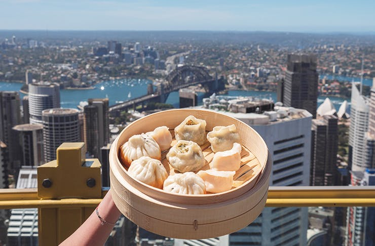 A Sky High All-You-Can-Eat Dumpling Challenge Is Happening In Sydney