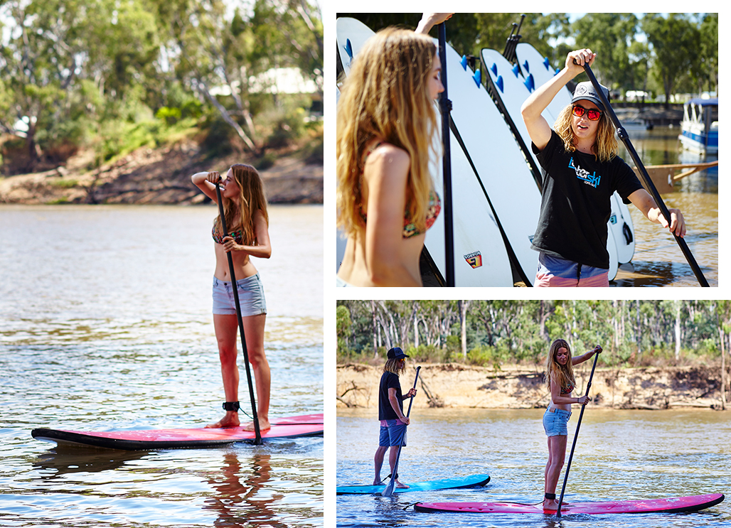 Visit Victoria_echuca_paddleboarding