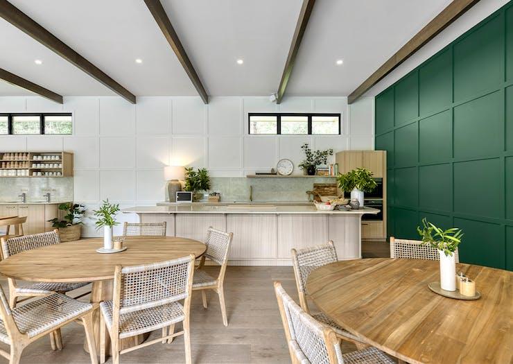 kitchen/dining area at eden