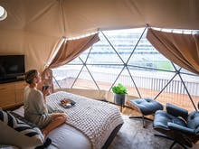Amp Up, The Award-Winning Glamping Experience At Eden Park Just Got Even Better