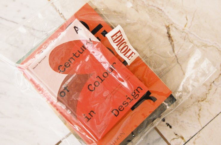 cool books in Edicole bag