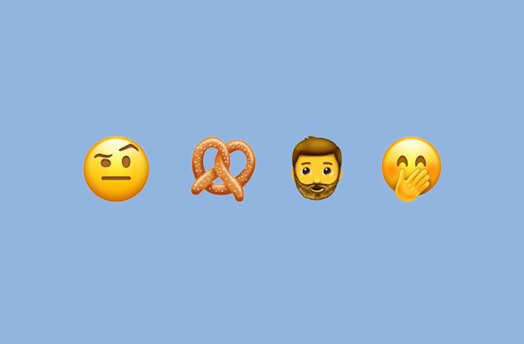 New emoji release 2017