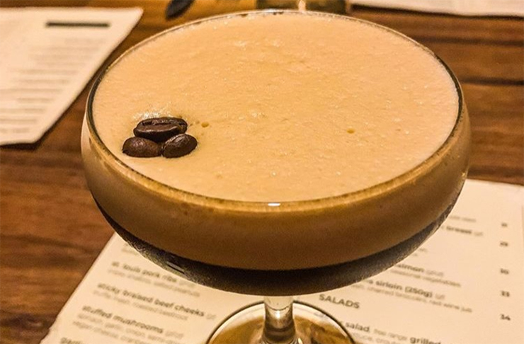 Espresso Martini at Everybody's