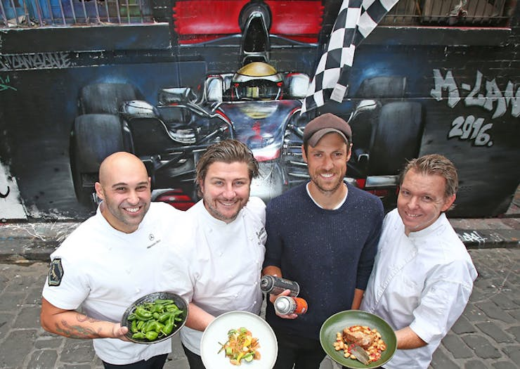 foodie pop up at f1