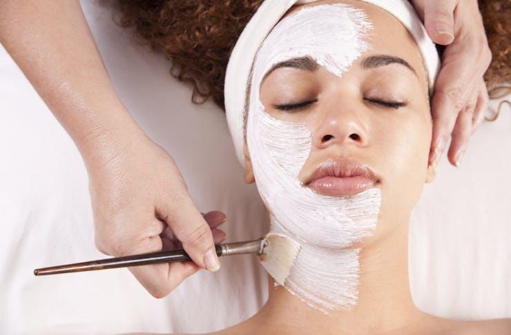 living skin facial